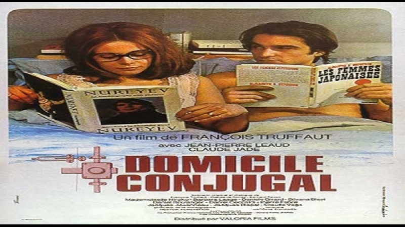 1970 F Truffaut Non drammatizziamo è solo questione di corna Jean Pierre Léaud Claude Jade Hiroko Bereghaur Ada Lonat