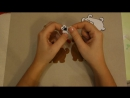 Мастер класс собачка из фетра за 20 минут Елочная игрушка своими руками