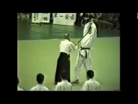 Gozo Shioda aikido demonstration