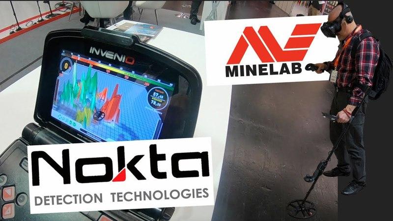 NEW Nokta Invenio Metal Detector and Minelab Virtual Reality at IWA Outdoor Classics Exhibition