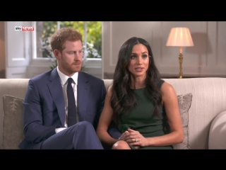 Prince Harry and Meghan Markle- The first interview