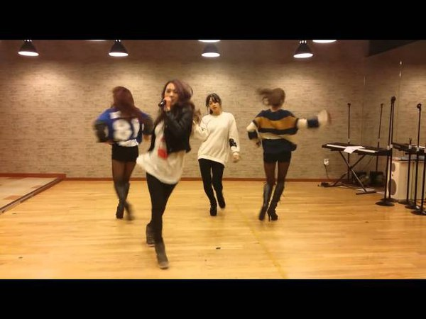키스앤크라이 KissCry Domino Game Dance Practice