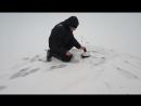 Зимняя рыбалка на озере Лабынкыр
