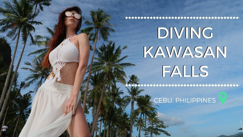Себу Моалбоал Филлипины Kawasan Falls Diving Vlog 2 FreshMania Travel