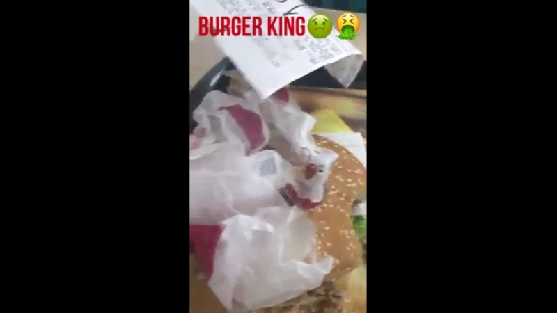 Burger King Kotz🤢🤮