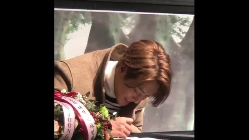 [2017.12.17] Kim Hyun Joong Haze Album Daejeon Fan Signing