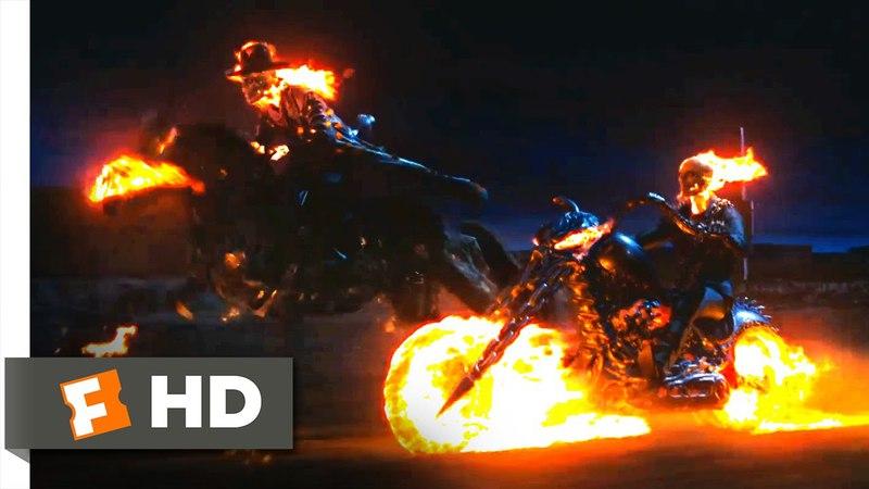 Ghost Rider - Slades Last Ride Scene (810) | Movieclips