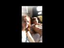 Алексей Воробьев и Галина Боб на съемках сериала Деффчонки 6 сезон Instagram Stories Галины 25.09.2017