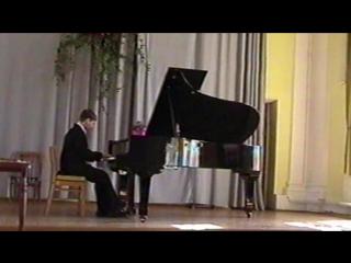 Ян Сибелиус - Ель (исп. М.Кузнецов) Выпускной экзамен ДМШ, 2004 г.