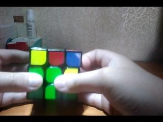 Обучение по сборке кубика Рубика.(Часть 3) Второй слой.
