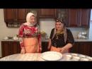 «Жижиг-Галнаш» мясо с галушками, Биром соус, Сискал кукурузная лепёшка чеченская кухня от Камета Мехтиевой. «Zhizhig-Ga