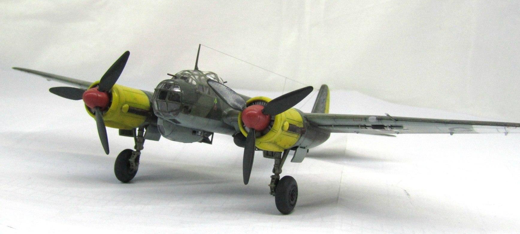 Ju-88 A-4 1/72 (Звезда) GPY1kvEleUs