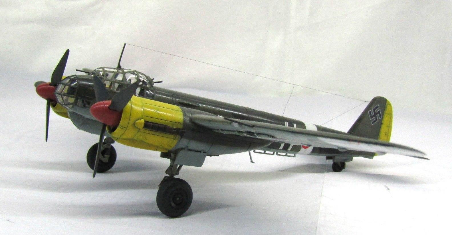 Ju-88 A-4 1/72 (Звезда) HaLz57hxPGI