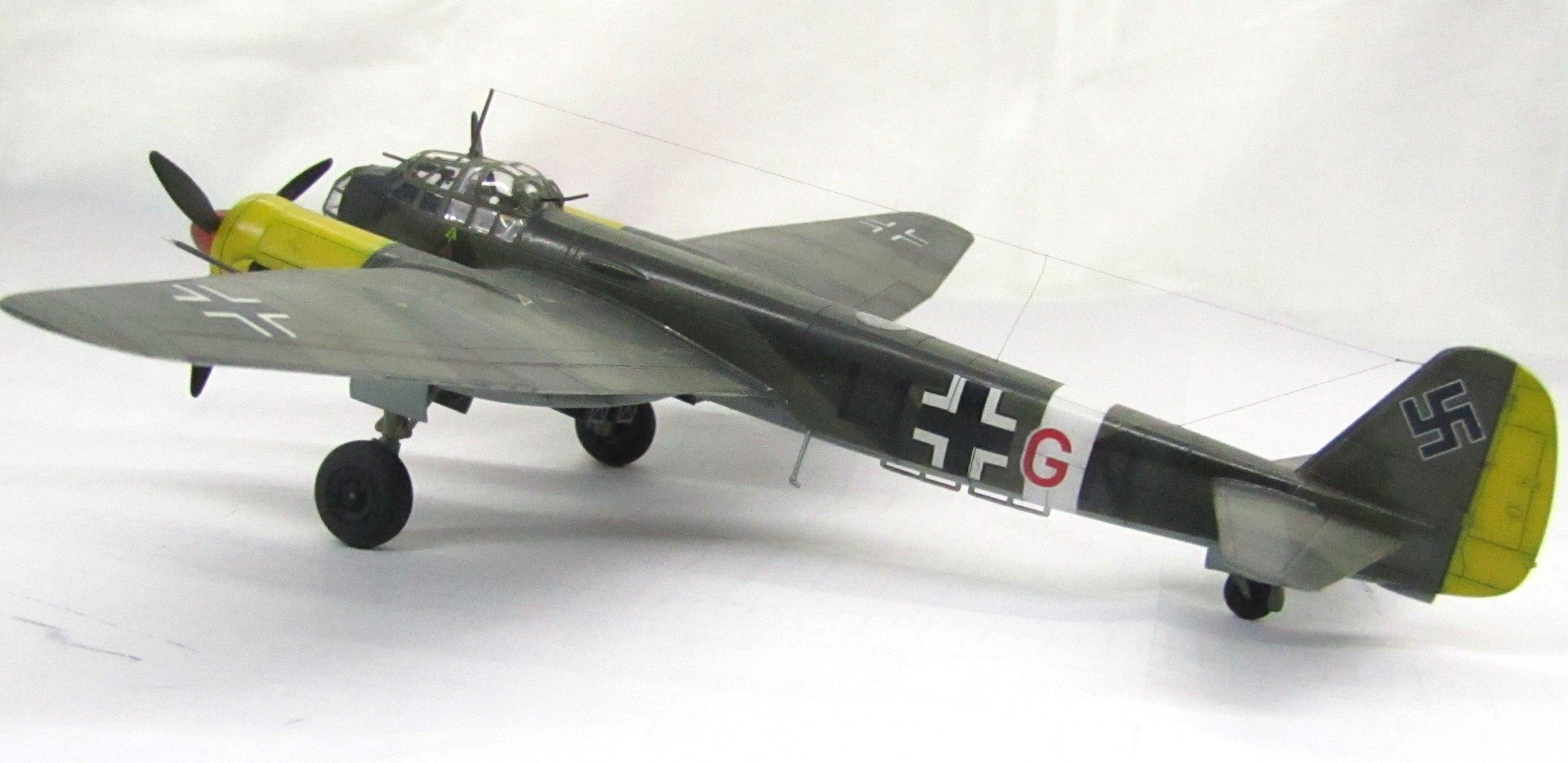 Ju-88 A-4 1/72 (Звезда) Bhy8s5LzT0U