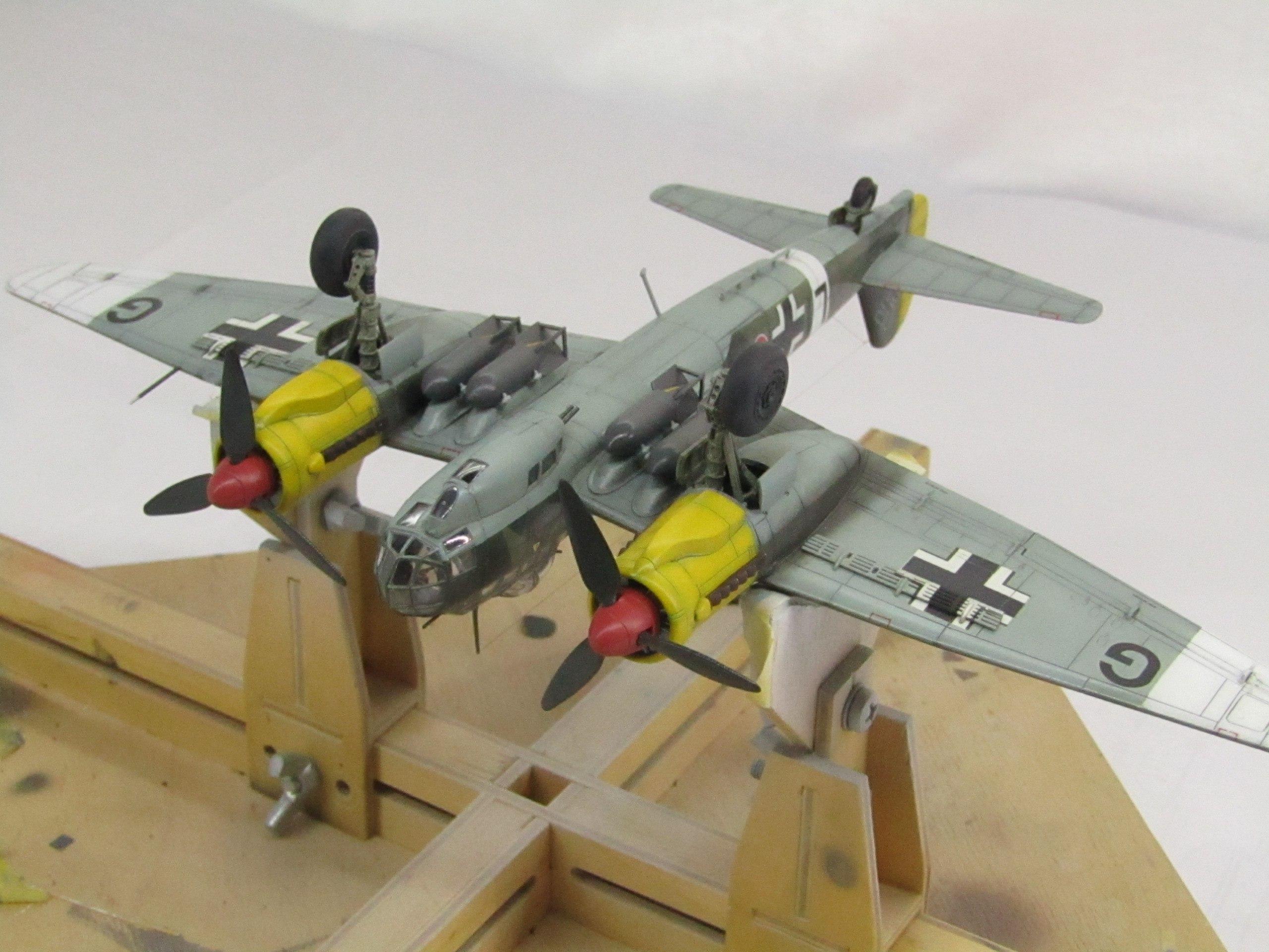 Ju-88 A-4 1/72 (Звезда) XfueWlMcwCA