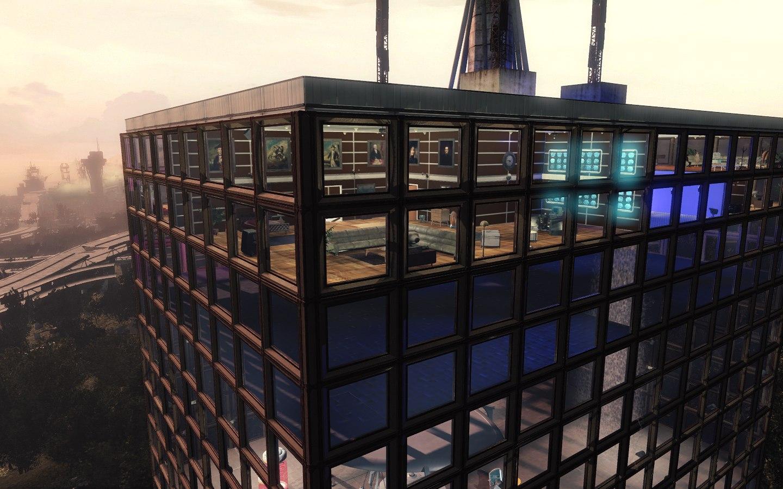 Поклонник Fallout4 сделал мод для игры с функционирующим небоскребом