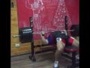 Андрей Сапожонков - жим лежа 205 кг на 3