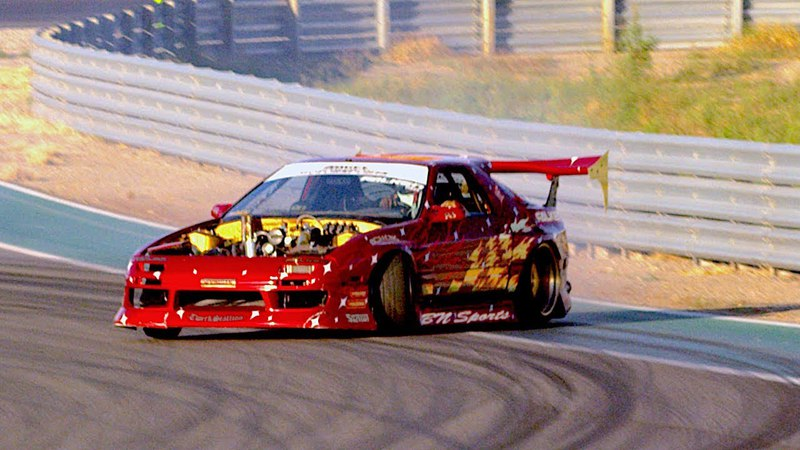 Pizza Daddy Slicin' up Thermal Club Turbo RX7 Drifting Director's Cut