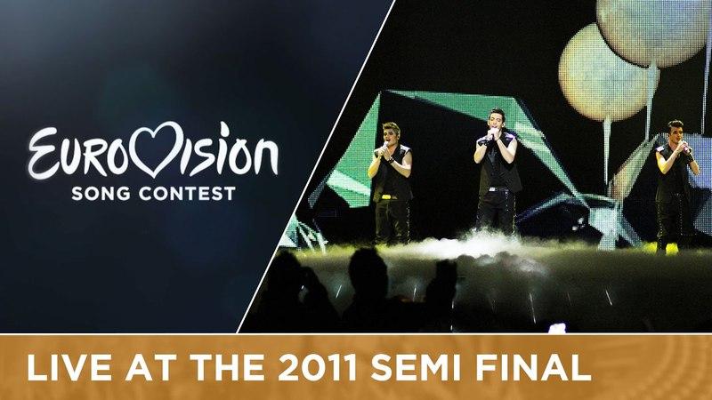 Christos Mylordos - San Aggelos S'Agapisa (Cyprus) Live 2011 Eurovision Song Contest