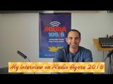 Моё интервью на Radio Agora 2018
