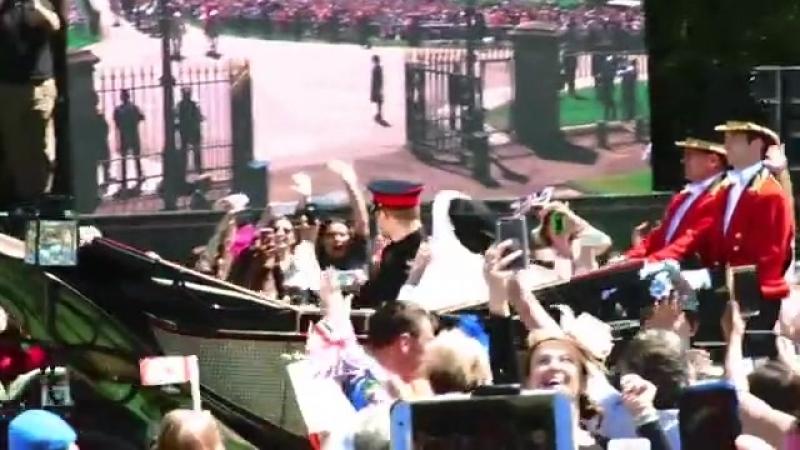 Prins Harry en Meghan zijn getrouwd