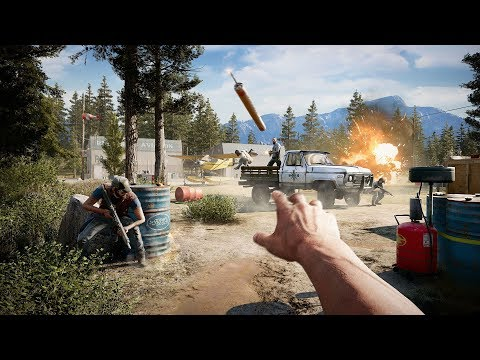Far Cry 5 GTX 1080 Ti OC i7 6700k 4.6Ghz Benchmark 4K