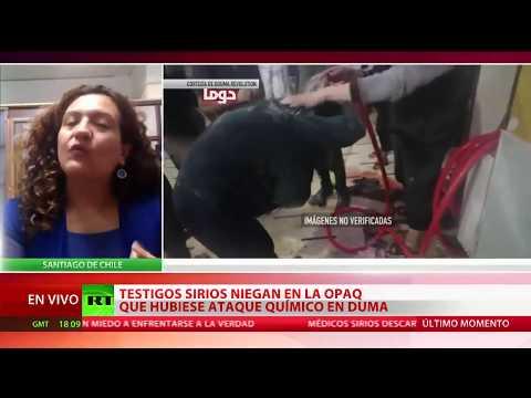 La OPAQ escucha testimonios que niegan el ataque químico en Duma