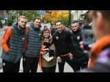 Прогулка Шахтера по Киеву перед матчем с Динамо (22.10.2017)