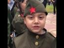 Дети читают стихи в День Победы