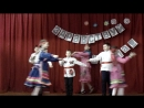 дебьют 5 А класса.марийский танец.