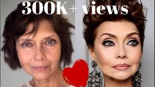 Cute Makeup for aging skin Tutorials compilation by makeup artist @ruslan tatyanin
