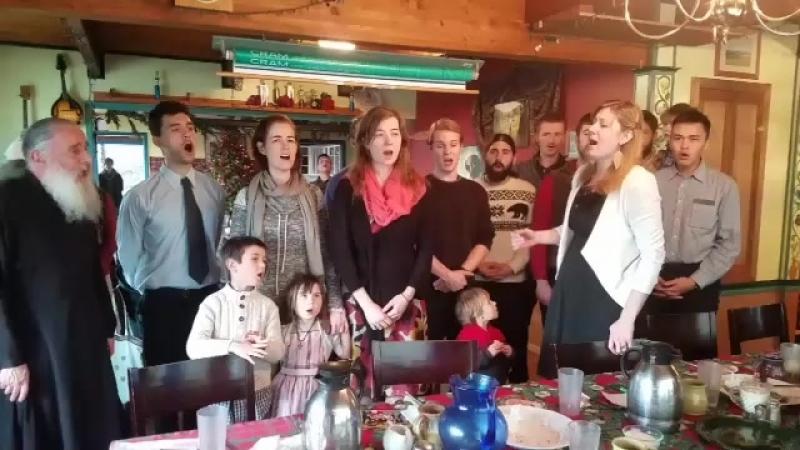 Georgia Voyage Жители Аляски исполняют Грузинскую песню Мравалжамиери