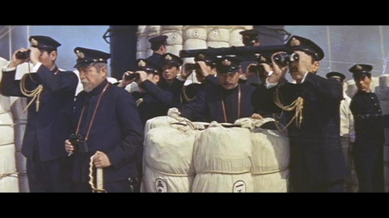 Император Мэйдзи и русско японская война 1958 Цусимское сражение