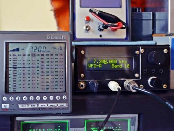 AD9850 DDS AMPLITUDE MODULATION - AM - 3