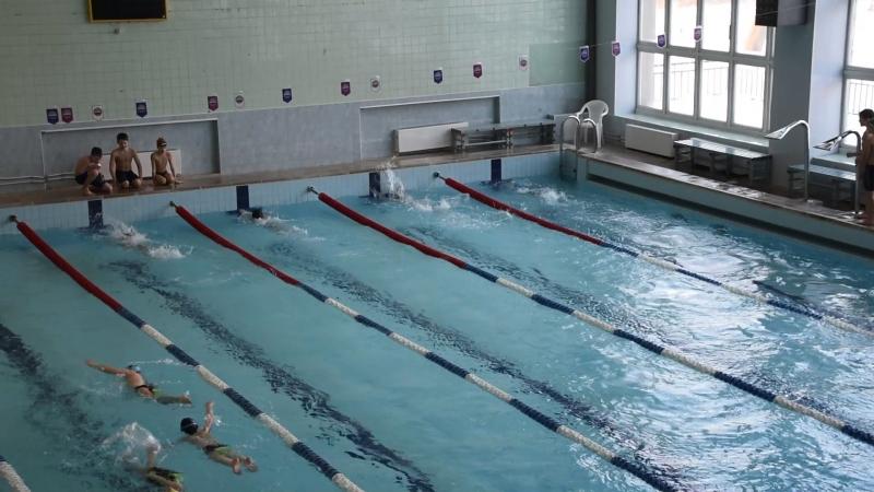 01.03.2018 - 2008 Мальчики пятый заплыв (группа 16.00)