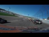 #21 - Ryan Blaney - Onboard - 2017 NASCAR Monster Cup - Round 32 - Kansas