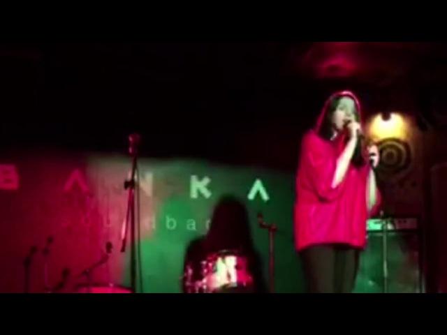 Valerie Warntz - Happy (Marina And The Diamonds cover) (Live Banka Soundbar 04.10.2017)