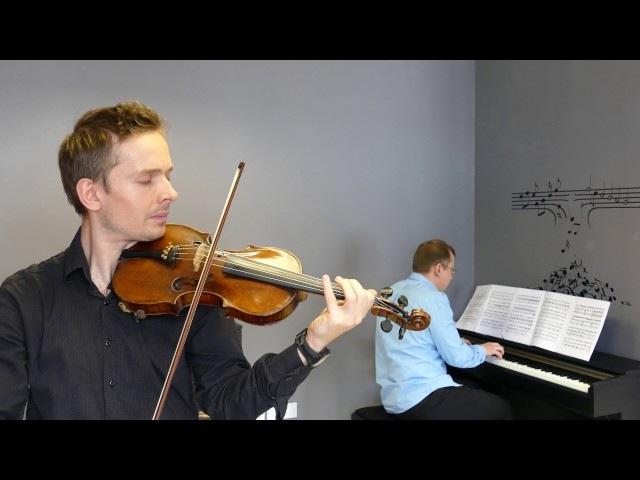 Oscar Rieding - Violin Concerto No.1 G , Op.34 G - Major - First movement