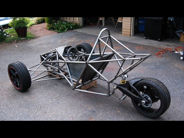GSXR 1000 Powered Spartan Trike Build Project