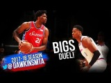 Joel Embiid vs Hassan Whiteside BiGS Duel 2018.3.8 - Embiid With 17, Hassan With 26! FreeDawkins