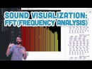 17.11: Sound Visualization: Frequency Analysis with FFT - Sound Tutorial
