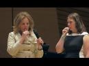 Hannah Ludwig 2016 Master Class with Renée Fleming