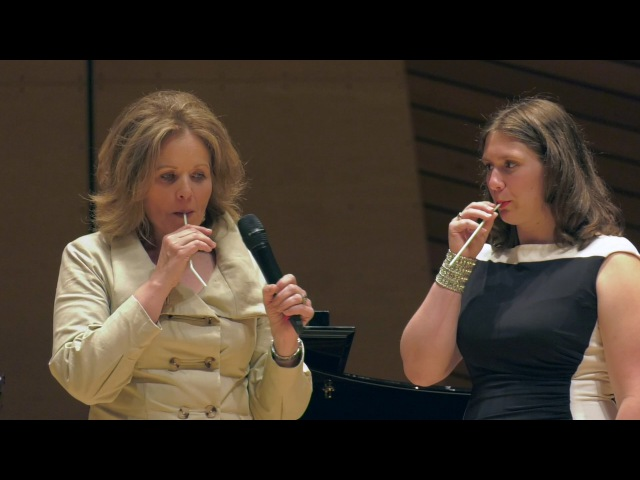 Hannah Ludwig 2016 Master Class with Renée Fleming