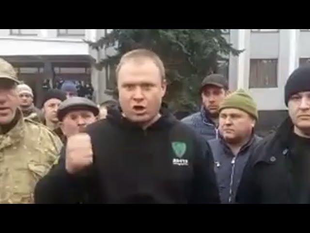 Каждый депутат,тряситесь! - Активисты в Тячеве заявили о своих дальнейших действиях.