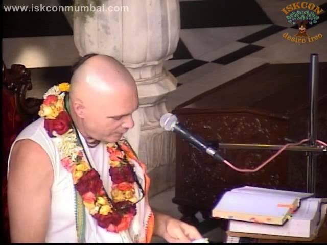 Srimad Bhagavatam 06.01.48 by H.G. Madhavananda Das at ISKCON Juhu on 02nd November 2013