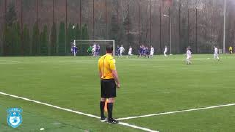 Евгений Дудиков сравнивает счет в самой концовке товарищеского матча с Сызранью-2003, 1-1
