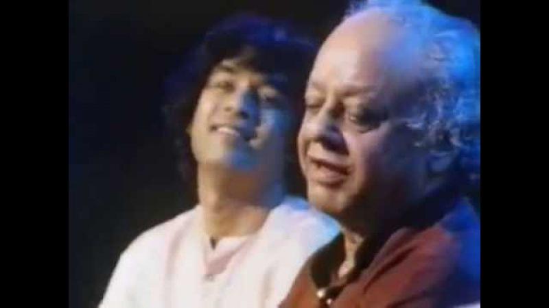 Ustad Alla Rakha Khan and Ustad Zakir Hussain in Live Concert. Part 2.
