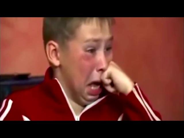 I put spongebob music over russian kid raging and crying
