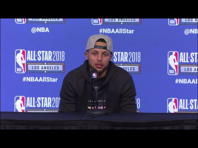 Stephen Curry FULL 2018 All-Star Postgame Presser