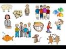 English for children. Spotlight 3. Page 76 ex.2. Irregular plurals.